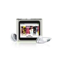Mp4 Player 1.8 Tela Multi-touch Rádio Fm (prata)