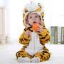 Macacão Bebe Inverno Desenho Importado Tigre Frete Gratis