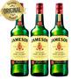 Kit 3 Whisky Importado Irlandes Jameson 750ml