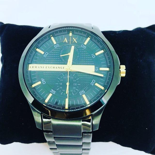 558357b881f Relógio Armani Exchange Ax2121 (masculino) Preto