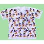 Camiseta Mickey Mouse Estampada Adulto