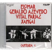 Cd-cantoria 1 - Elomar/geraldo Azevedo/vital Farias/ Xangai