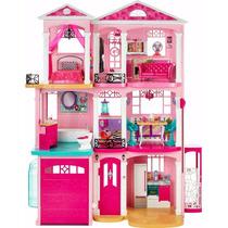 Casa Dos Sonhos Da Barbie Dream House 3 Andares Mattel