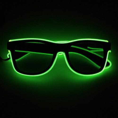 5637b78653ba5 3 Óculos Led Neon Lente Escura - Frete Grátis. R  130.99. 50 vendidos