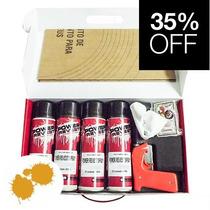 Kit P/ 4 Rodas Envelopamento Líquido Aborora Spray - Power R