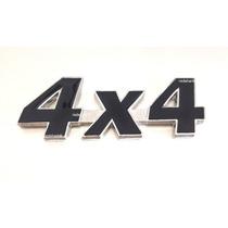 Emblema 4x4 Jeep Cherokee Wrangler Willys Metal- Preto !!!