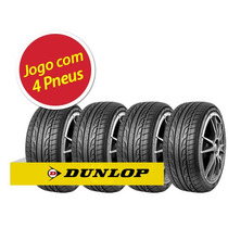 Kit Pneu Aro 17 Dunlop 225/45r17 Sport Maxx 94y 4 Unidades