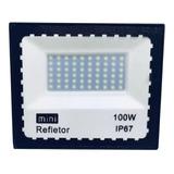 Refletor Led 100w Holofote A Prova D'água Bivolt