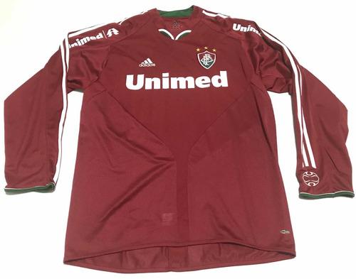 af25a2113a Camisa Fluminense Grená 2005 2006 Rarissima Manga Longa