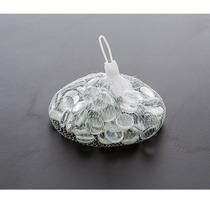 Gema Decorativa De Vidro Incolor - Decoração De Vasos - Novo