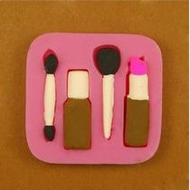Molde Forma Silicone Maquiagem Batom Esmalte Bolo Biscuit