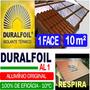 Manta Termica Subcobertura Telhado Duralfoil 1 Face 10 M²
