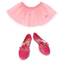 Sapatilha Infantil Grendene Barbie Ballet - 26 Ao 33 - Pink