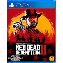 Red Dead Redemption Ii 2 Ps4 Em Português Mídia Física