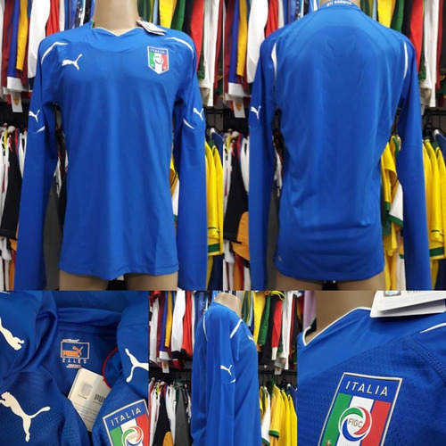 Camisa Itália - Puma - Xl - 2010 2011 - Manga Longa - Nova 99092b2872e09