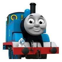 Trenzinho C/ Som E Luzes - Thomas E Amigos - Vermelho / Azul