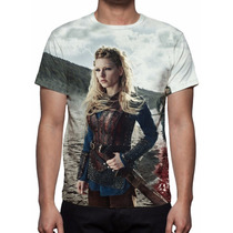 Camisa, Camiseta Série Vikings - Estampa Total