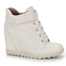 Tênis Sneaker Feminino Brenda Lee - Branco