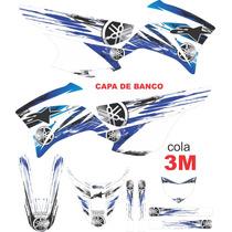 Kit Adesivos Gráficos Xtz 250 Lander + Capa De Banco - 3m