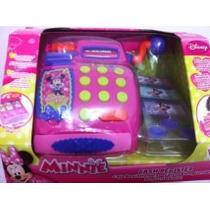 Caixa Registradora Infantil Com Som Da Minnie-disney