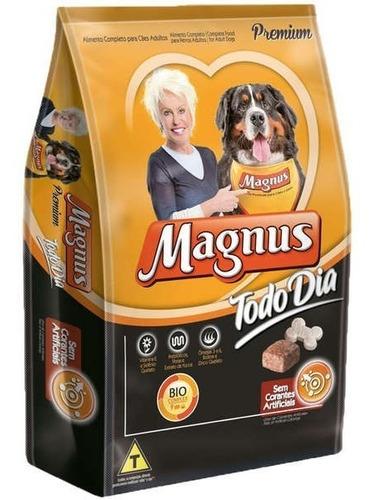 Ração Magnus Todo Dia Cães Adultos 15kg + Brinde
