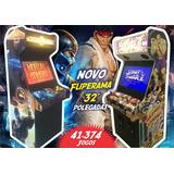 Fliperama 32 Smart 41374 Jogos+2 Ficheiros+sub+led Malvadeza