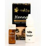 Henna Sobrancelhas Makiaj Alto Rendimento E Fixação Rena