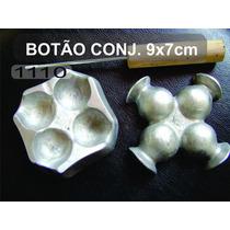 Frisador Eva Em Alumínio Botão Rosa Conjugado Cod.1110