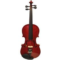 Violino 4/4 Top Dark Ambar Completo Com Case Luxo E Arco