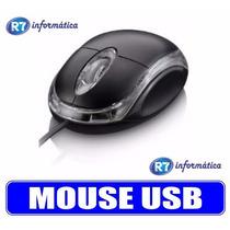 Mouse Usb Óptico Led 800 Dpi Pc Notebook