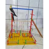 Playground Parquinhos Para  Calopsitas(mod.1)