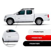 Friso Nissan Frontier Prata Preto Branco Vermelho Cinza Jogo