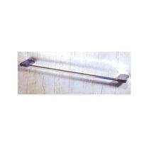 Porta Toalhas De Banheiro 60cm Latão Retangular C1524