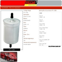 Filtro De Combustível - Golf Iv 1.6 16v 02/00 A 01