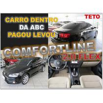 Jetta Comfortline 2.0 Flex - Teto E Interior Claro Ano 2014