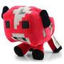 Vaca Cogumelo Boneco Vermelha 16cm Minecraft Pronta Entrega