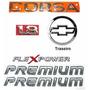 Emblemas Corsa Sedan 1.8 Premium - 03 À 07 - Modelo Original
