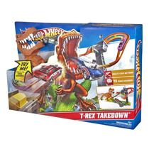 Hot Wheels Pista Ataque Do T-rex