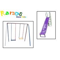 Conjunto Amarelinha 2 - Brinquedo Infantil - Parquinho