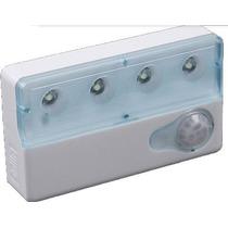 Kit 4 Lâmpadas Led Com Sensor De Movimento E Luminosidade