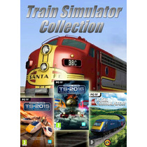 Jogo Pc - Train Simulator Collection 2016 Super Coleção