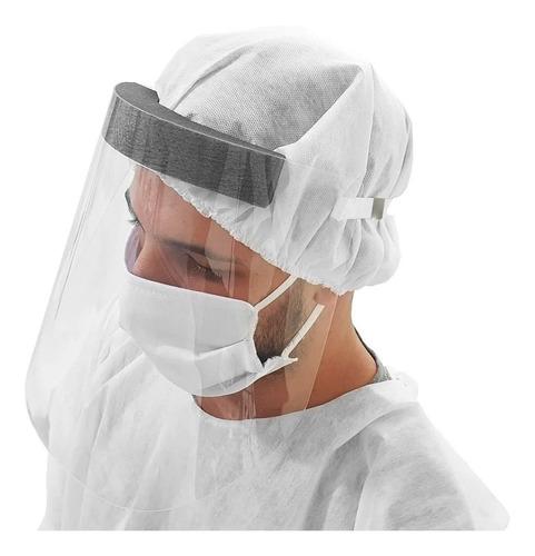 Máscara Para Proteção Facial - Viseira Plástica Para O Rosto