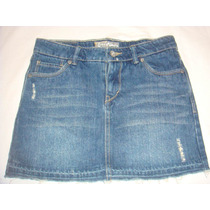 Mini Saia Jeans Infantil Menina Levis - 12 Anos