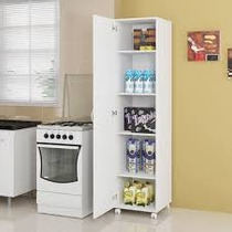 Armario De Lavanderia E Cozinha Em 100% Mdf Multi Uso