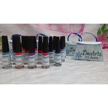 Bolsinha Esmalte + Lixa Personalizado - 10un - Lembrancinhas
