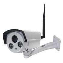 Camera Ip Externa Megapixel Hd720p Wifi Sem Fio Onvif