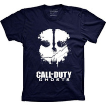 Camisetas Call Of Duty Ghosts Vide Game Jogo Gosts Camisa