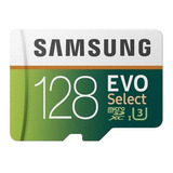 Cartão De Memória Samsung Mb-me128ga/am Evo Select 128gb
