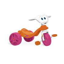 Triciclo Infantil Menina Velotrol Motoca Zootico Abelhinha
