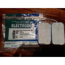 Eletrodo Adesivo Fisioterapia 9cm X 5cm 4 Unid. Americanos